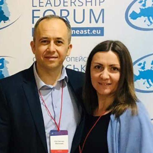 Константин и Данута Мельник